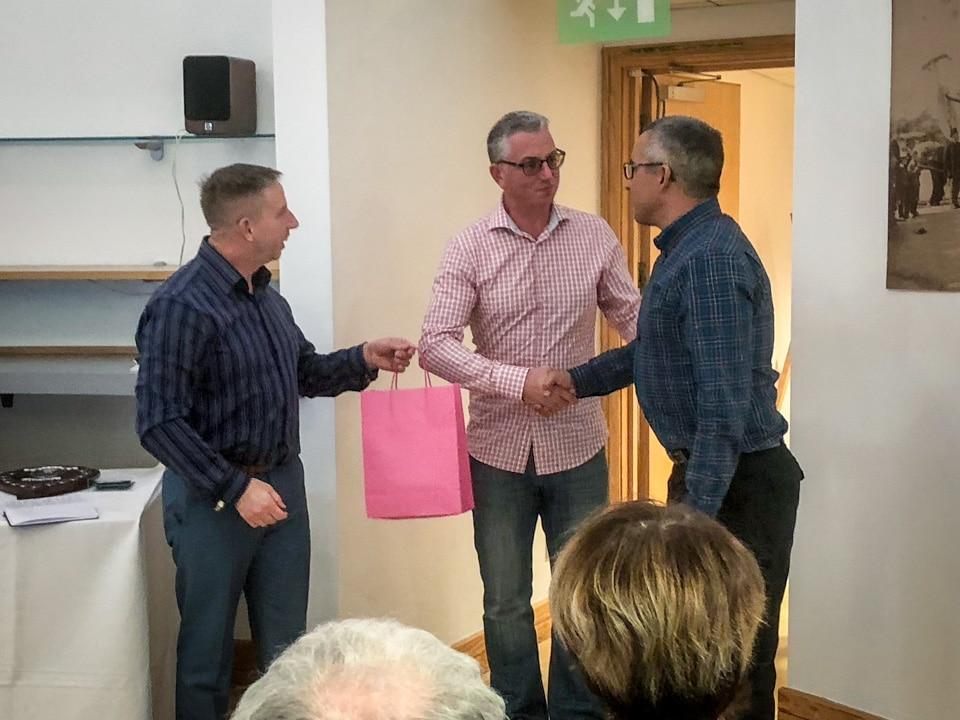 Mark Critchlow wins a Dorset ASA achievement award