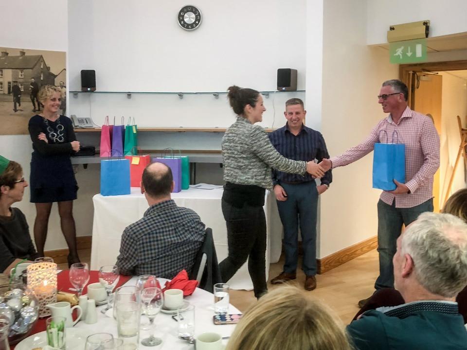 Kirstie Foweraker wins a Dorset ASA achievement award after her gruelling 2017 Channel Relay