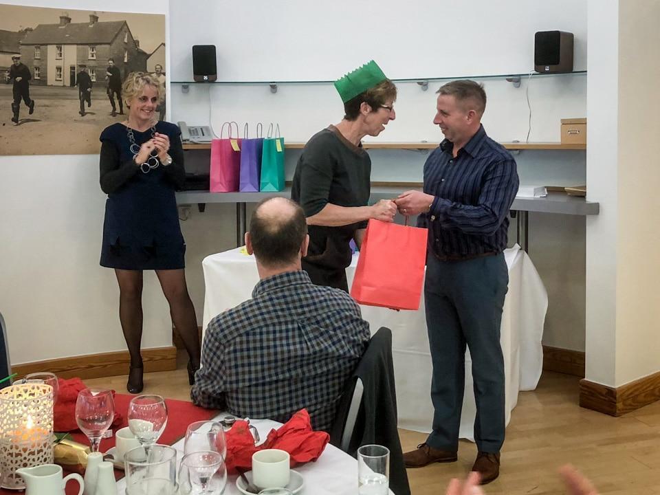 Jan Shepherd wins the 'Best Volunteer' Award